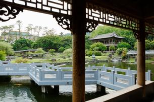 台湾 国立故宮博物院 至善園の写真素材 [FYI02838833]
