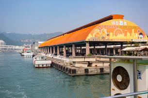 Gushan Ferry Pier Station 鼓山輪渡站の写真素材 [FYI02838929]