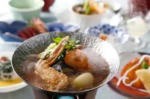スープカレー鍋の写真素材 [FYI02839146]