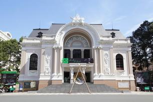 市民劇場 ホーチミンの写真素材 [FYI02839587]