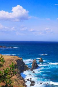 屏風岩と日本海の写真素材 [FYI02839588]