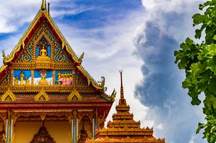 Wat Thip Payarat Nimit, Udon Thani, Thailandの写真素材 [FYI02839644]