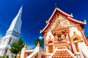Wat Phra That Tha Uthen, Nakhon Phanom, Thailandの写真素材 [FYI02839740]