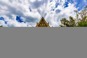 Wat Phrathat Bangphuan, Nong khai, Thailandの写真素材 [FYI02839747]