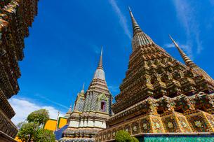 ワット・ポーの仏塔の写真素材 [FYI02839936]
