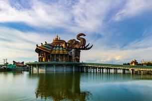 タイ  コラート ワット・バンライの写真素材 [FYI02840212]