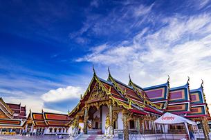 Wat Phra That Choeng Chum Worawihan, Sakon Nakhon, Thailandの写真素材 [FYI02841998]
