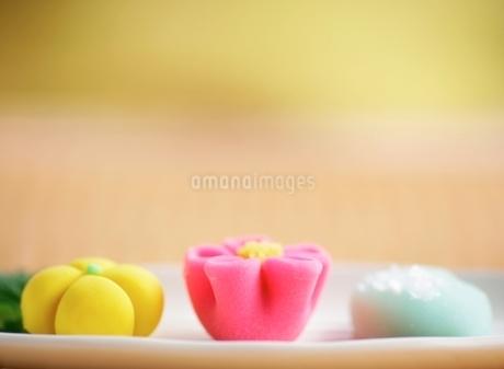 カラフルな和菓子の写真素材 [FYI02843117]