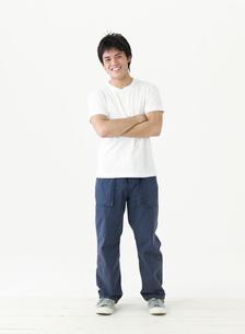 男性のポートレートの写真素材 [FYI02843136]