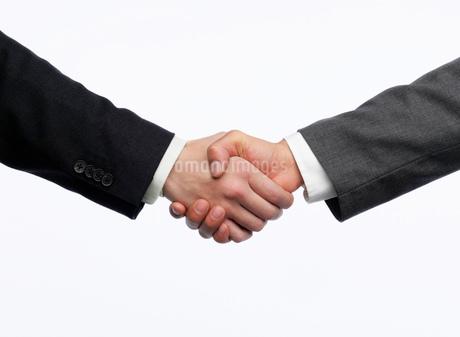 握手をする手の写真素材 [FYI02843630]