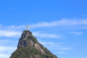コルコバードの丘 キリスト像の写真素材 [FYI02844470]