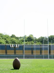 ラグビーゴールの写真素材 [FYI02844643]