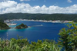 名瀬港 奄美大島の写真素材 [FYI02844798]
