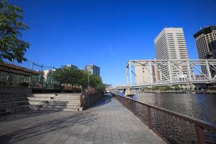 天王洲ふれあい橋の写真素材 [FYI02844820]
