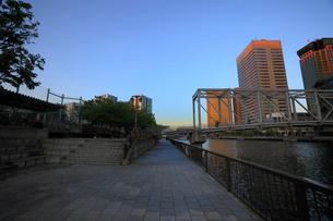 天王洲ふれあい橋の写真素材 [FYI02845062]