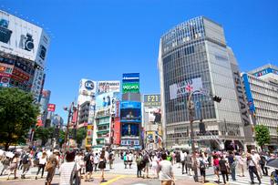 渋谷駅前の写真素材 [FYI02845901]