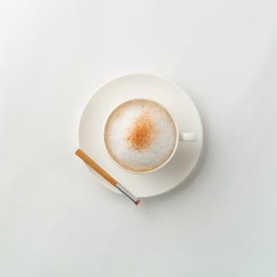 カプチーノの写真素材 [FYI02846768]