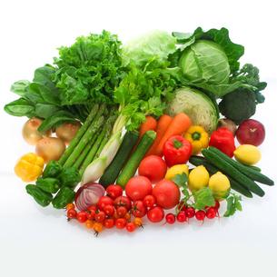 穫れたて野菜の集合の写真素材 [FYI02847066]