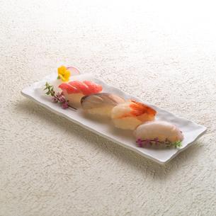 にぎり寿司の写真素材 [FYI02847683]