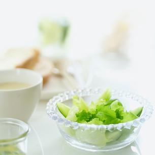 野菜サラダと朝食の写真素材 [FYI02848974]