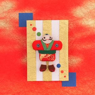 和のイメージの奴凧 クラフトの写真素材 [FYI02849373]