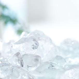 積まれた氷の写真素材 [FYI02849552]