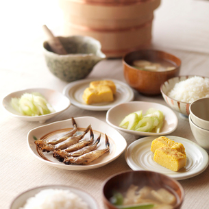 和食の朝食の写真素材 [FYI02849796]
