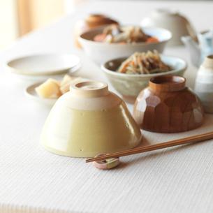 和食の食卓イメージの写真素材 [FYI02849824]