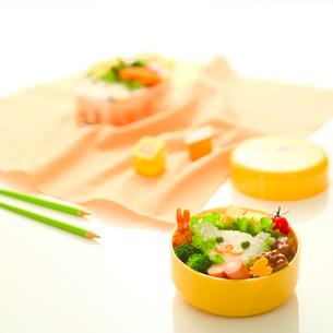 子供用のお弁当の写真素材 [FYI02850292]