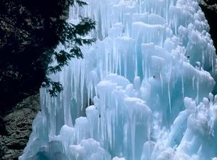 大禅の滝 氷柱の写真素材 [FYI02850783]
