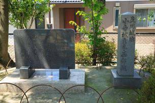 小寺城主之奥都城の碑の写真素材 [FYI02851106]