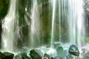 安達太良山西麓 達沢不動滝の写真素材 [FYI02851136]
