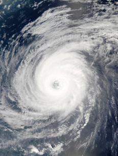 Typhoon Sudal south of Japan.の写真素材 [FYI02851309]