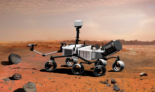 Mars Science Laboratoryの写真素材 [FYI02851322]
