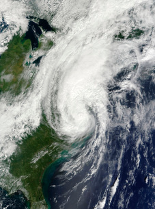 Tropical Storm Hanna over the East Coast .の写真素材 [FYI02852322]