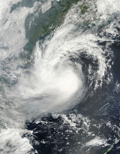 Tropical Storm Parma approaching China and Vietnam.の写真素材 [FYI02852645]