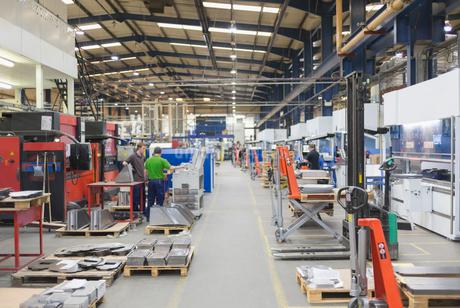 Steel factoryの写真素材 [FYI02853759]