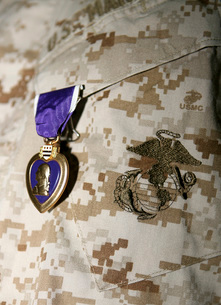 The Purple Heart Awardの写真素材 [FYI02854013]