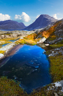Norway, More og Romsdal, Sunnmore, Scenic view of landscapeの写真素材 [FYI02855728]