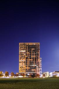 Sweden, Skane, Lund, Exterior of building in Ideon Science Parkの写真素材 [FYI02855896]
