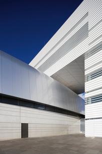 Sweden, Skane, Lund, Modern building of Max IV laboratoryの写真素材 [FYI02855957]