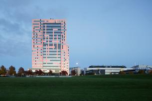 Sweden, Skane, Lund, Exterior of building in Ideon Science Parkの写真素材 [FYI02856132]