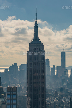 Empire State Building in New York Cityの写真素材 [FYI02856169]