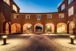 Sweden, Stockholm, Ostermalm, Kungliga Tekniska hogskolan (Royal Institute of Technology)の写真素材 [FYI02856185]