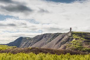 Sweden, Lapland, Kiruna, Landscape with iron ore mineの写真素材 [FYI02856217]