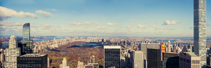 Cityscape of New York Cityの写真素材 [FYI02856218]