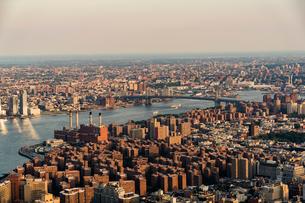 Cityscape of New York Cityの写真素材 [FYI02856270]