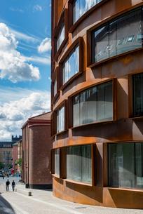 Sweden, Stockholm, Ostermalm, Rounded building of Kungliga Tekniska hogskolan (Royal Institute of Teの写真素材 [FYI02856338]