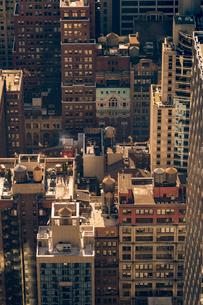 Cityscape of New York Cityの写真素材 [FYI02856441]