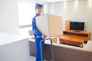 House-moving serviceの写真素材 [FYI02856445]